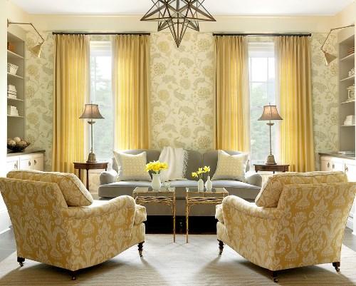 Contoh ruang keluarga dengan layout melingkar (Betterdecoratingbible)