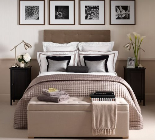 Dekorasi kamar tidur kecil bergaya hotel (Homejpg)