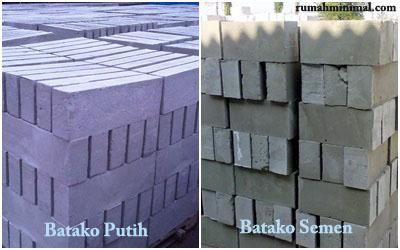 Jenis-Jenis Batako