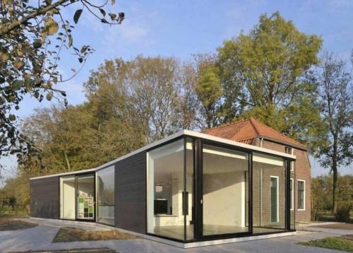 Bentuk Rumah Minimalis Farmhouse 1 Lantai