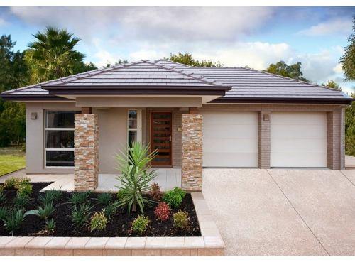 Bentuk atap rumah minimalis sederhana model perisai