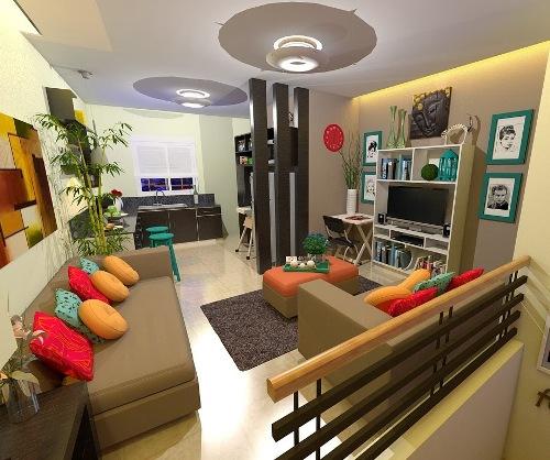 Contoh Desain interior rumah minimalis type 36 72