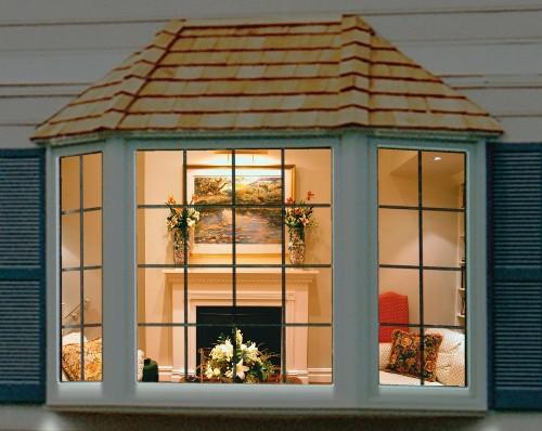 Contoh bay window di rumah 2 lantai - Dakappa