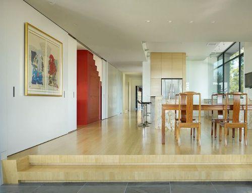 Contoh desain interior rumah bergaya Asia