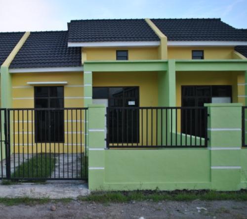 Contoh desain pagar rumah type 36