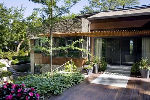 Contoh foto rumah minimalis 1 lantai plus taman