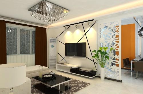 Contoh interior rumah minimalis tanpa sekat permanen