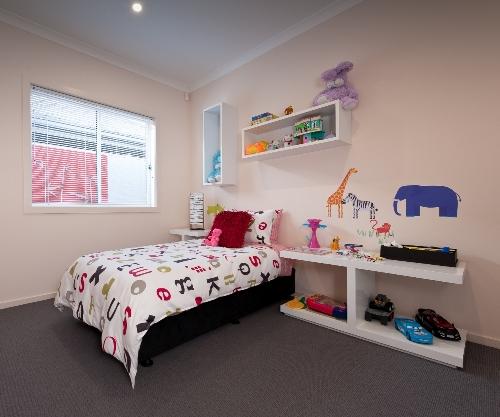 Contoh kamar tidur anak minimalis di rumah 2 lantai - Houseandland
