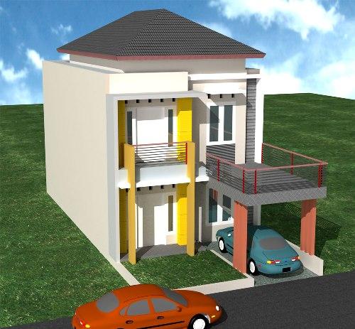 Desain Rumah Minimalis Modern Type 36 1 Atau 2 Lantai ...