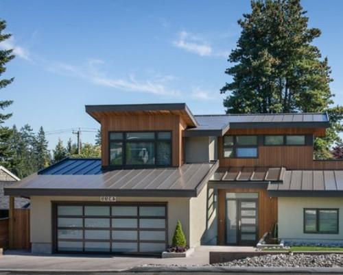 Contoh rumah modern dengan atap logam - Roofcalc