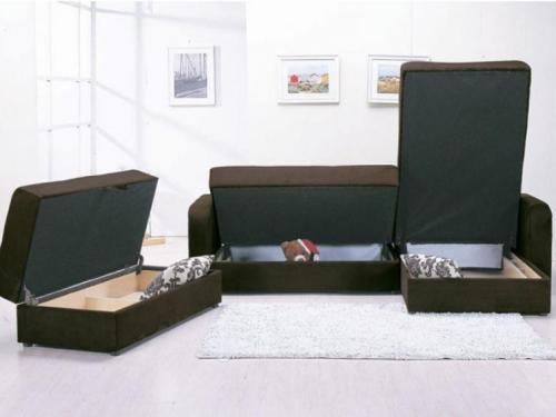 Contoh sofabed multi-fungsi untuk rumah minimalis (Bedroomdiscounters)
