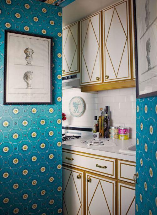 Dapur tersembunyi di rumah minimalis sederhana - Housebeautiful