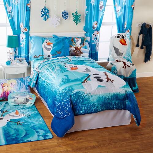 Dekorasi kamar anak perempuan dengan tema Frozen