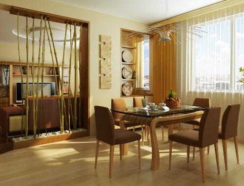 Dekorasi ruang makan simple namun menarik