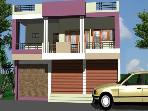 Desain Atap Rumah Modern Model Datar