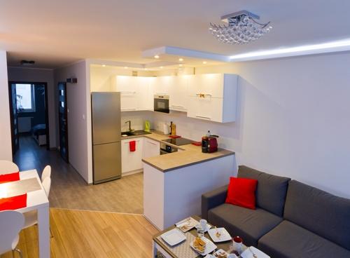 Desain Ruang keluarga multifungsi (Fotolia)