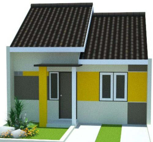 Desain Rumah minimalis type 36 1 lantai