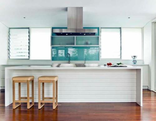 Desain dapur bertema laut -Jeffreybrianfisher