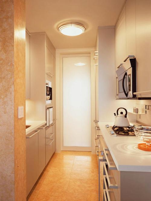 Desain dapur model double line - Hgtvhome