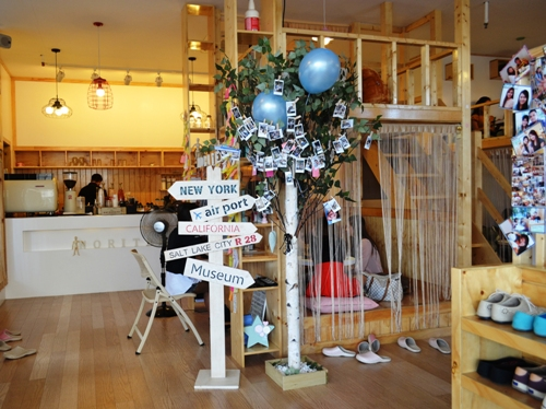 Desain Interior Cafe Unik dan Kreatif ala Noriter Cafe