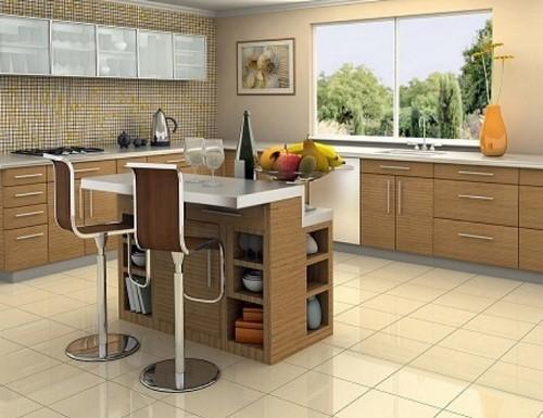 Desain keramik dapur minimalis - Aqeokc