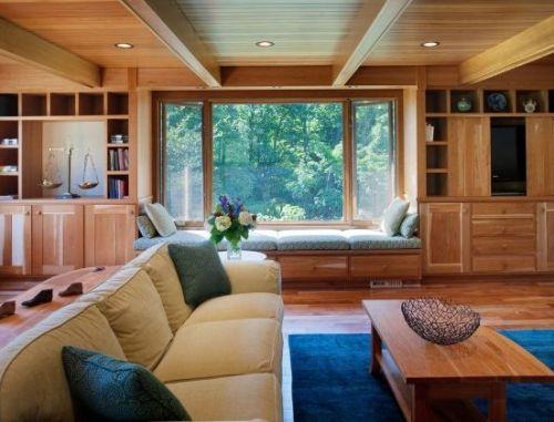 Desain plafon kayu untuk rumah minimalis