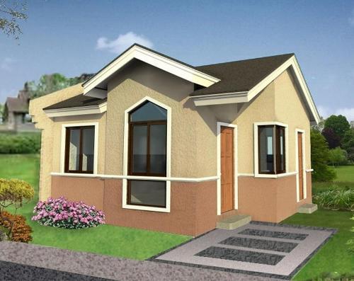 Desain rumah minimalis type 45 asri namun terjangkau