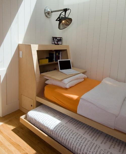 Furniture multi-fungsi penghemat ruang di rumah minimalis Type 36