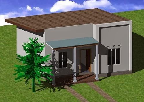 Gambar rumah sederhana bernuansa kontemporer