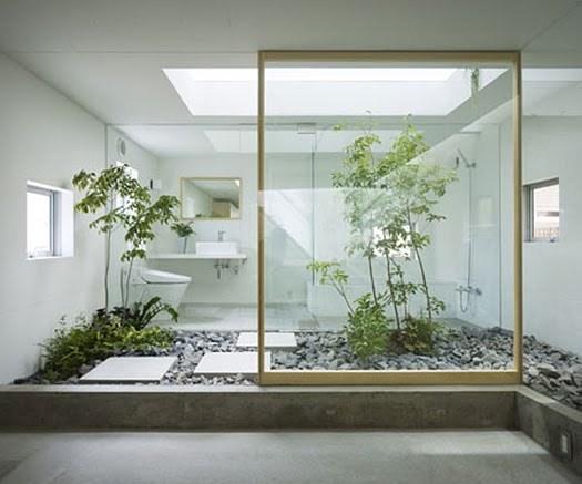 Gambar taman dalam rumah minimalis