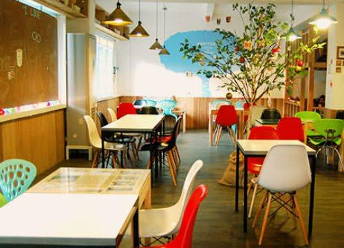 Interior Artistik dengan Nuansa Penuh Warna di Noriter Cafe - Tinypic