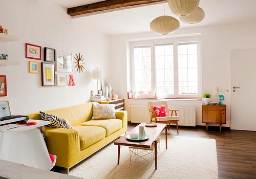 Interior rumah minimalis sederhana type 36