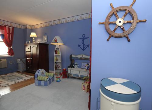 Kamar bayi laki-laki bertema pirates