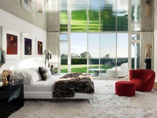 Kamar tidur teatrikal Elton John - Bedroom.About