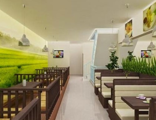 Konsep desain interior cafe alami (Hunianrumah)