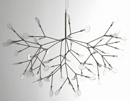 Lampu unik untuk Desain interior rumah modern (Freshome)