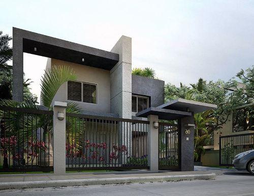 Model Pagar Rumah Minimalis simple dan modern