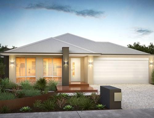 Model Rumah Minimalis Modern Satu Lantai  - Houseandland