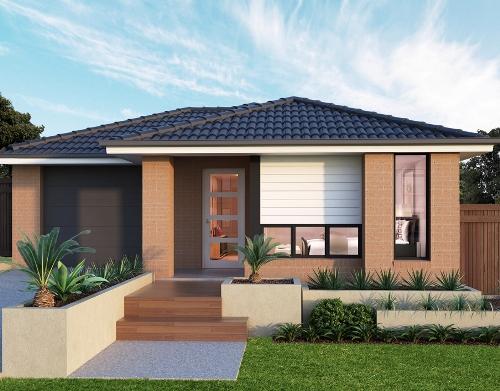 Model Rumah Minimalis Modern Type 70 - Houseandland