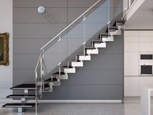 4 Inspirasi Tangga Rumah Minimalis 2 Lantai Modern