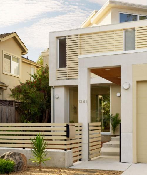 Model pagar minimalis modern sesuai konsep rumah