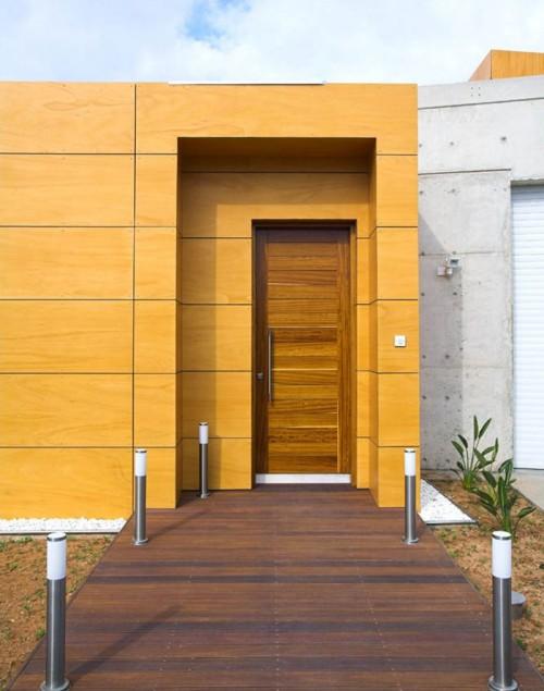 Model pintu utama rumah minimalis