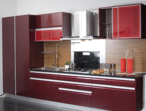 One-set kitchen cabinet membuat dapur tertata rapi (Sensine)