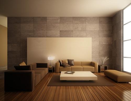 Pelapis dinding dapat meredam suara di ruang keluarga terbuka (Plebio)Pelapis dinding dapat meredam suara di ruang keluarga terbuka (Plebio)