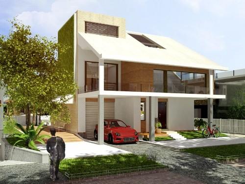 Rancangan Rumah Kaca Minimalis 2 Lantai - Saharasnewhaven