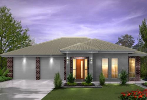 Rumah 1 lantai dengan 2 garasi untuk toko - Houseandland