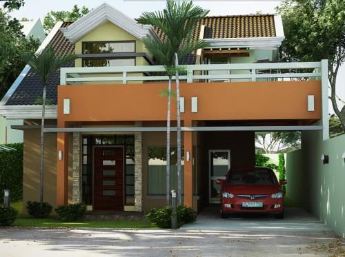 Rumah Idaman 2 Lantai dengan Balkon
