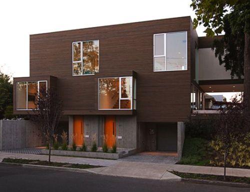 Model Rumah Minimalis 2 lantai dengan Bay Window