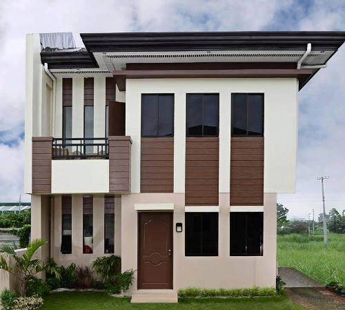 Rumah Minimalis Type 36 72 kontemporer dengan bentuk kotak