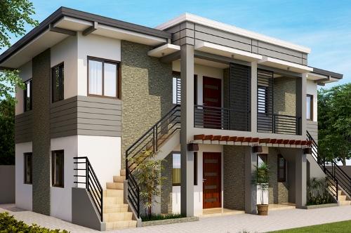Rumah minimalis 2 lantai tampak kokoh
